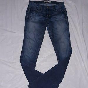 J Brand Blue Pencil Leg Skinny Jean 29